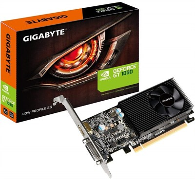 GIGABYTE GeForce GT 1030 2GB 64Bit Low Profile Graphics Card - GV-N1030D5-2GL