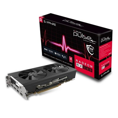 SAPPHIRE PULSE Amd Radeon RX 580 8GD5 256-Bits GDDR5  Graphic Card