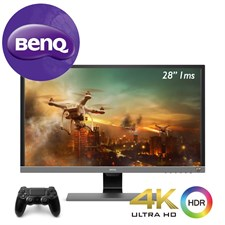BenQ EL2870U 4K HDR 28 inch Best for PS4 Pro & Xbox One X 1ms Fast Response Time Gaming Monitor
