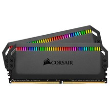 Corsair DOMINATOR® PLATINUM RGB 32GB (2 x 16GB) DDR4 DRAM 3200MHz C14 Memory Kit