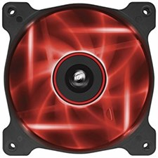 Corsair Air Series AF120 120mm Red LED Quiet Edition High Airflow Fan