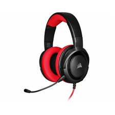 CORSAIR HS35 Stereo Gaming Headset — Red