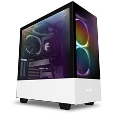 NZXT H510 Elite Premium Compact Mid-tower ATX Case (Matte White)