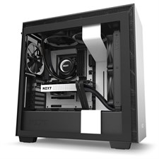 NZXT H710 Mid-Tower Case with Tempered Glass (Matte White)