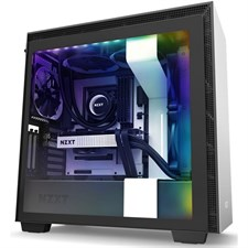 NZXT H710i Premium ATX Mid-Tower with Lighting and Fan Control (Matte White)