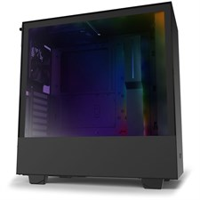 NZXT H510i Compact Mid-Tower Case with Lighting and Fan Control (Matte Black)