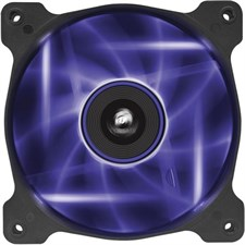 Corsair Air Series AF120 LED 120mm Quiet Edition High Airflow Fan Single Pack - Purple