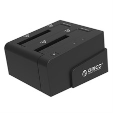 ORICO 6628US3-C-BK 2.5 & 3.5 inch SATA2.0 USB3.0 1 to 1 Clone External Hard Drive Docking Station