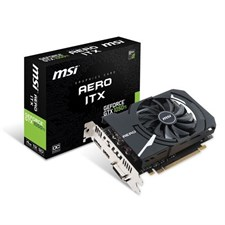 Msi GeForce | Gtx 1050ti 4gb OC  | Aero ITX | 128-Bit GDDR5 | Graphic Card | DirectX 12