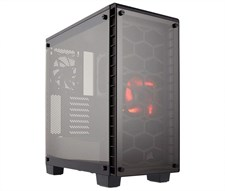 Corsair Crystal Series™ 460X Compact ATX Mid-Tower Case - CC-9011099-WW