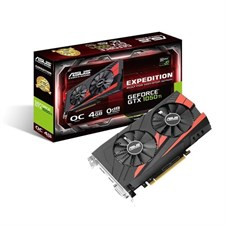 ASUS Expedition GeForce GTX 1050 Ti gaming graphics card 4GB GDDR5