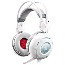 A4Tech Bloody G300 Combat Gaming Headset (White)