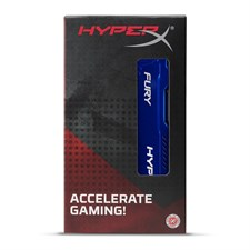 Kingston HyperX FURY 4GB 1866MHz DDR3 CL10 DIMM -Blue - Black (HX318C10F/4) - Gaming Ram