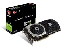 MSI GEFORCE® GTX 1070 QUICK SILVER 8G OC