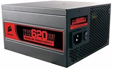 USED CORSAIR HX620W MODULAR POWER SUPPLY Professional Series (Without Box)