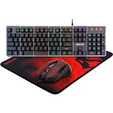 Redragon S107 PC Gaming Keyboard and Mouse Combo & Large Mouse Pad