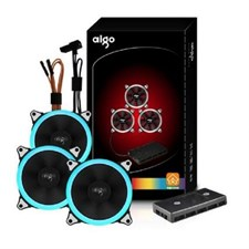 Aigo A3  3PCS RGB LED APP Control Fan