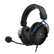 HyperX Cloud Alpha S Wired 7.1 Surround Sound Gaming Headset for PC with Chat Mixer and Adjustable B