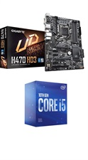 Intel Core i5-10400F 10TH GEN WITH GIGABYTE H470 HD3 MOTHERBOARD BUNDLE OFFER