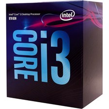 Intel Core i3 8100 Processor Coffee Lake 6M Cache, 3.60 GHz BX80684I38100