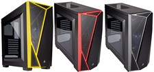Corsair Carbide Series® SPEC-04 Mid-Tower Gaming Case - Grey/Yellow/Red