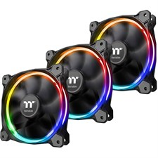Thermaltake Riing 12 LED RGB Radiator Fan Sync Edition (3-Fan Pack) CL-F071-PL12SW-A