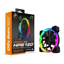 Cougar Vortex RGB HPB 120 PWM HDB Cooling Case Fan