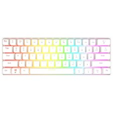 GK61 61 Keys 60% RGB Mechanical Gaming Keyboard Hot Swappable ( Blue Switches)