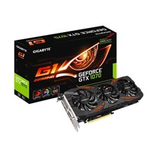 GIGABYTE GeForce | GTX 1070  GV-N1070G1 GAMING-8GD | 8GB 256-Bit GDDR5 | Graphic Card