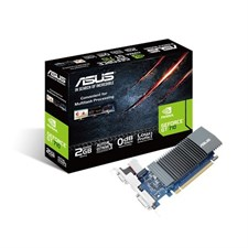 ASUS GT710-SL-2GD5-BRK GDDR5 2GB 64-bit Powered By NVIDIA GeForce GT 710