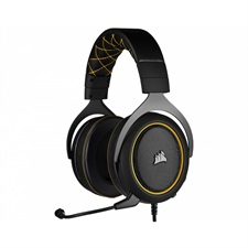 CORSAIR HS60 PRO SURROUND Gaming Headset — Yellow