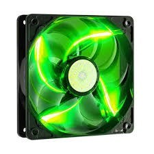 Cooler Master SickleFlow X (Green LED) 120mm Silent Fan for Computer
