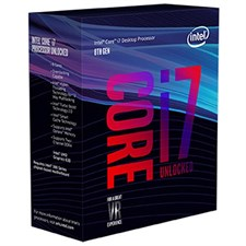 Intel i7 8700K 3.7G Coffee Lake BX80684I78700K LGA1151 PROCESSOR