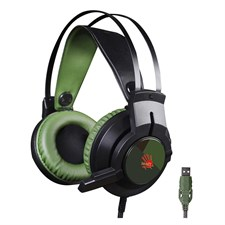 Bloody J437 Glare Virtual 7.1 Gaming Headset (Army Green)