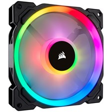 Corsair LL140 RGB 140mm Dual Light Loop RGB LED PWM Fan — Single Pack