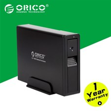 ORICO  7618US3 3.5 inch SATA2.0 USB3.0 External Hard Drive Enclosure with Safety Lock