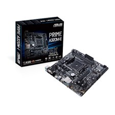 Asus PRIME A320M-E AMD AM4 uATX Motherboard With LED Lighting