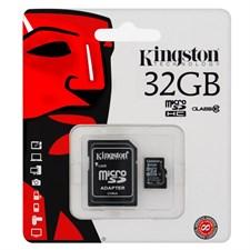Kingston microSD 32GB Class10 Memory Card