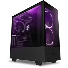 NZXT H510 Elite Premium Compact Mid-tower ATX Case (Matte Black)