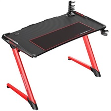 DXRacer E-Sports Gaming Desk TG-GD001-NR-1 - Black/Red (Free Next-Day Delivery for Karachi Only)