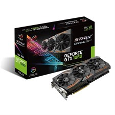 ASUS ROG STRIX-GTX1080-A8G-GAMING GDDR5X 8GB 256-bit Powered By NVIDIA GeForce GTX 1080