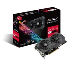 ASUS ROG STRIX-RX570-O4G-GAMING GDDR5 4GB 256-bit Powered by AMD Radeon RX 570
