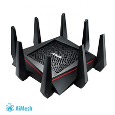 ASUS RT-AC5300 Tri-Band Wireless-AC5300 Gigabit Gaming Router With WTFast Game Accelerator