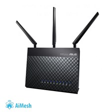 ASUS RT-AC68U Dual-Band Wireless-AC1900 Gigabit Router with AiMesh and AiProtection