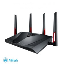 ASUS RT-AC88U Dual-band Wireless-AC3100 Gigabit Gaming Router with WTFast Game Accelerator