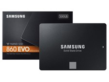 SAMSUNG SOLID STATE DRIVE 860 EVO SERIES 500GB 2.5 INCH SSD - MZ-76E500BW
