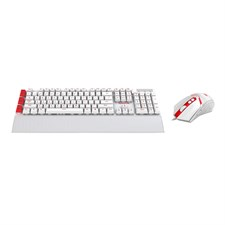 S102W YAKSA USB Programmable Gaming Keyboard, 7 Color Back0ght, NEMEANLION 3000DPI,Wired Gaming Mous