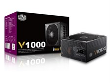Cooler Master V1000 V Series Fully Modular 80 PLUS Gold Certified 1000W Power Supply