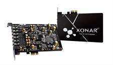 ASUS XONAR AE 7.1 110dB SNR PCIe Gaming Sound Card with 150ohm Headphone AMP